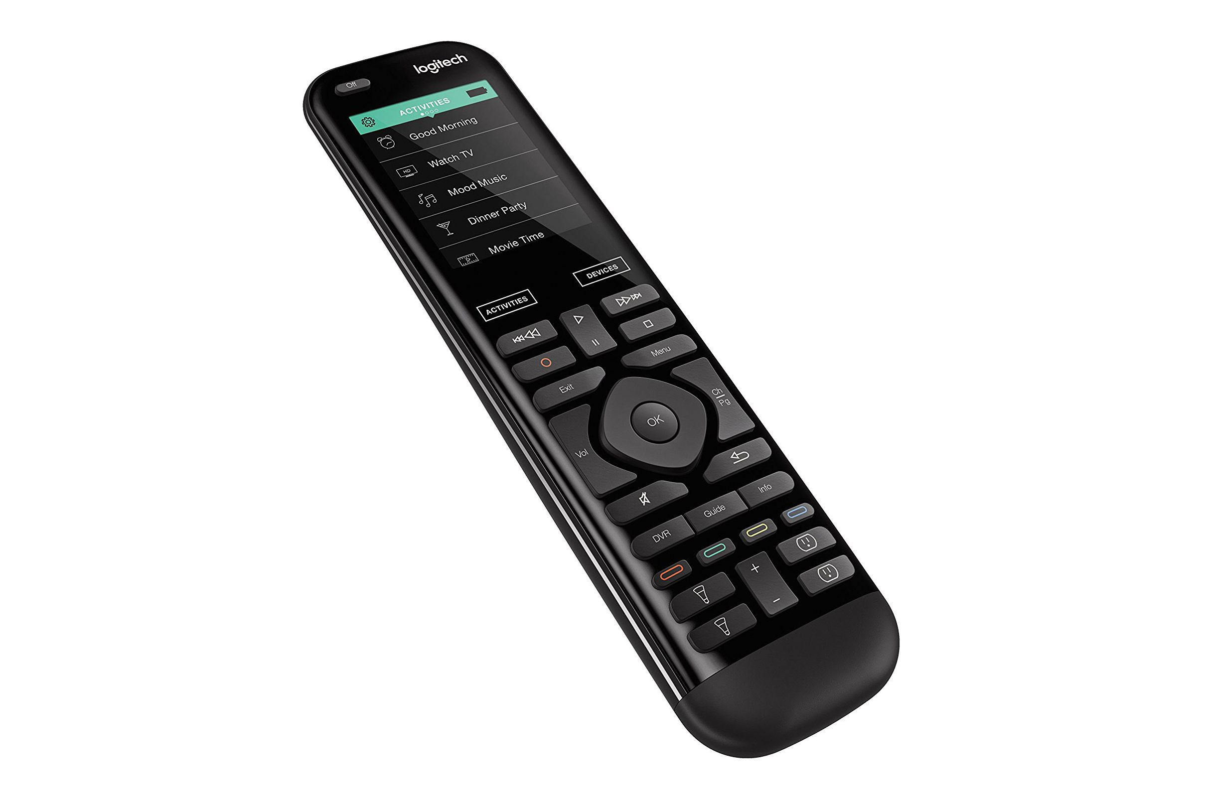 logitech universal remote instructions
