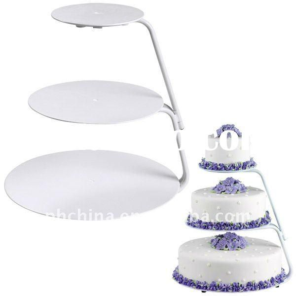 wilton 3 tier cake stand instructions