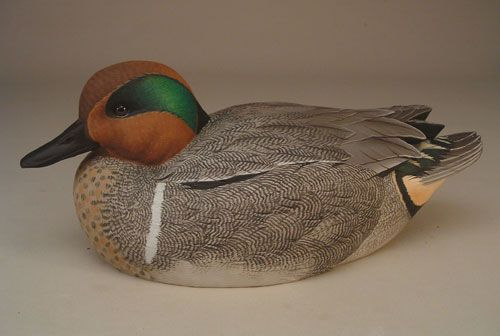 drake mallard duck decoy painting instructions