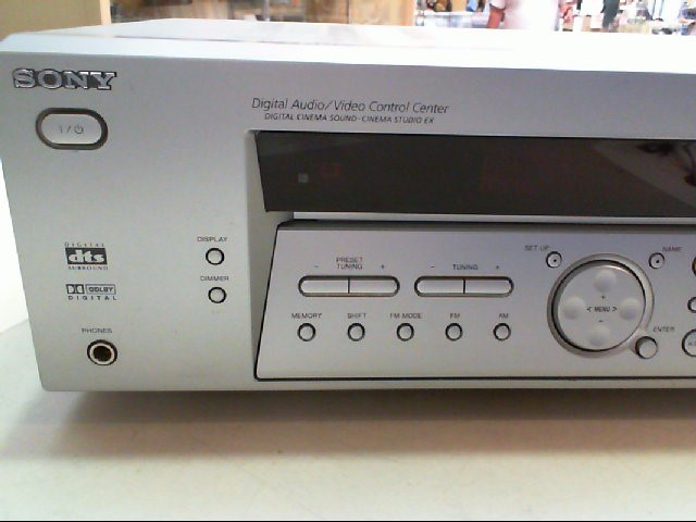 sony digital audio video control center instructions