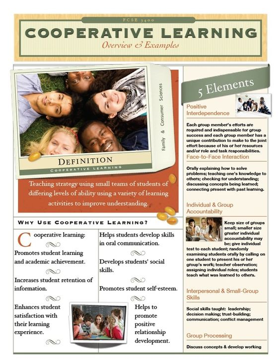 cooperative learning instructional strategies