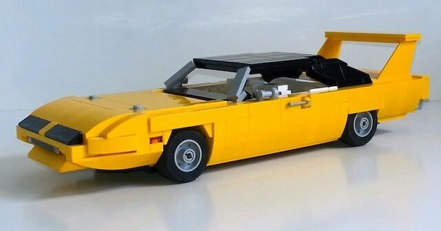 lego 1969 dodge charger instructions