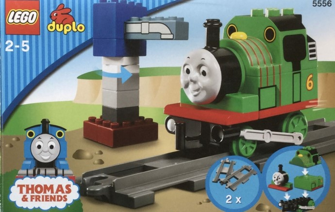 thomas and percy race set instructions
