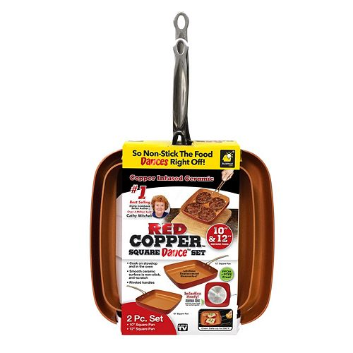red copper pan care instructions