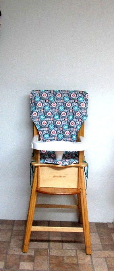 eddie bauer wooden high chair instructions