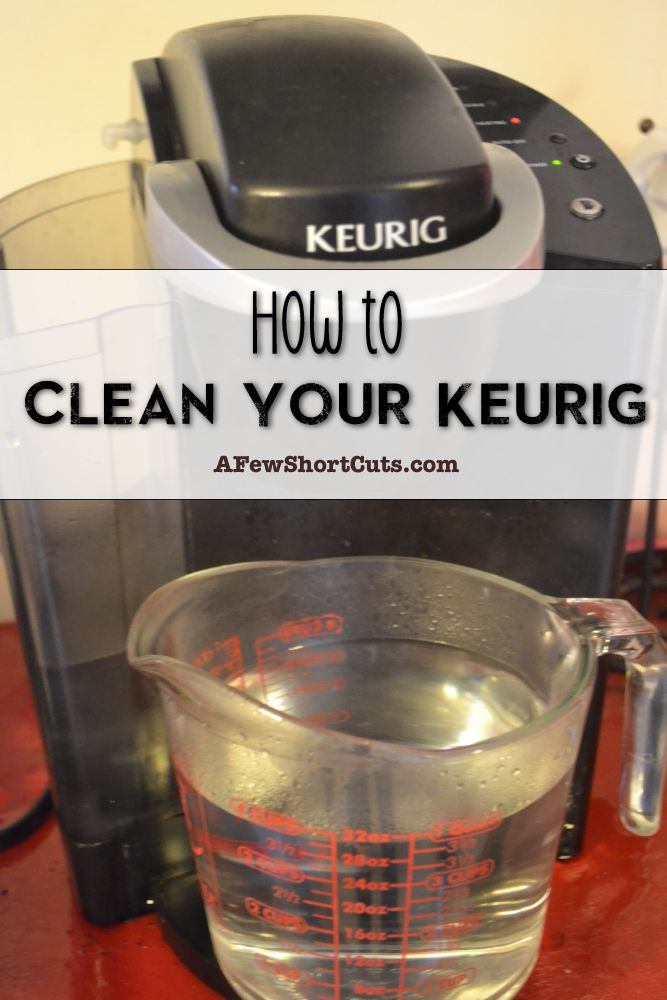 clean coffee maker with vinegar instructions