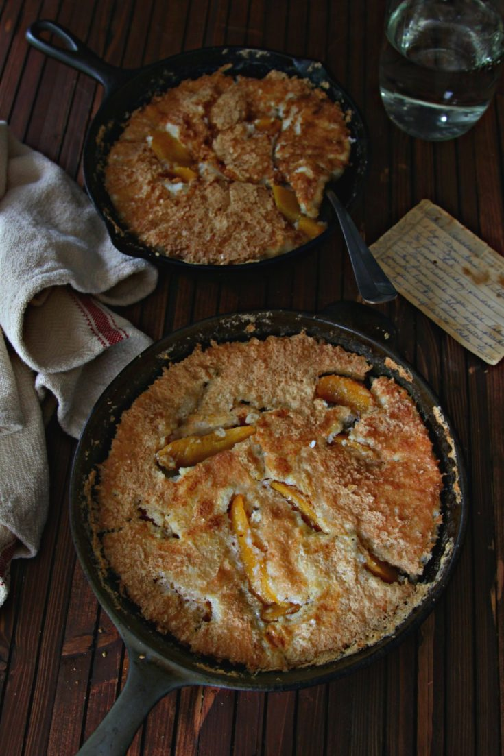 peach cobbler ingredients and instructions