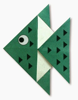 easy origami fish instructions for kids