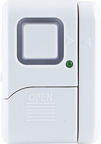 ge personal security window door alarm instructions