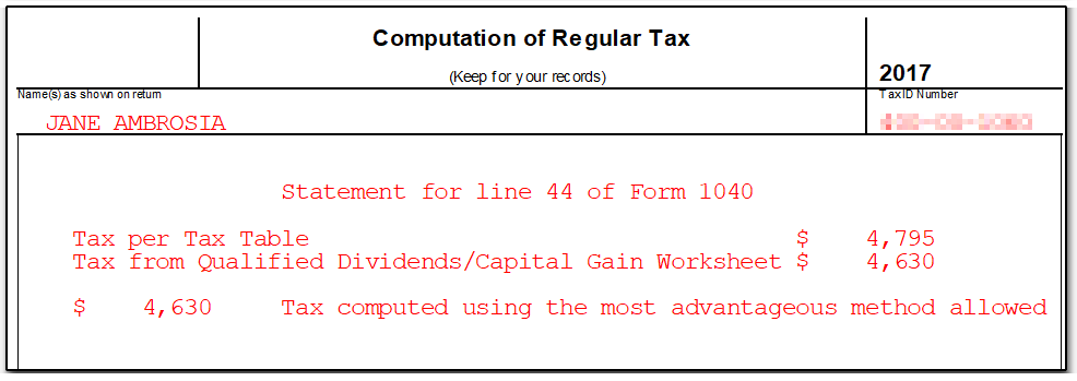 line 44 on form 1040 instructions