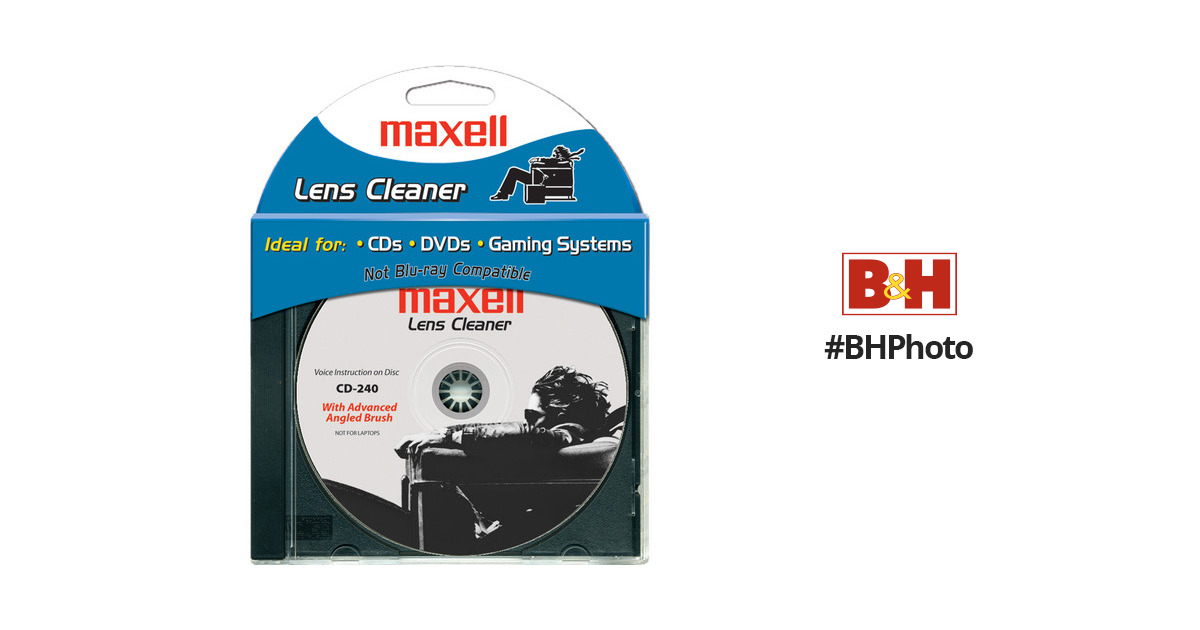 maxell disc cleaner instructions