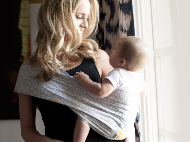 seven baby sling instructions